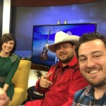 Ross and Jonathan do interview on KBTX