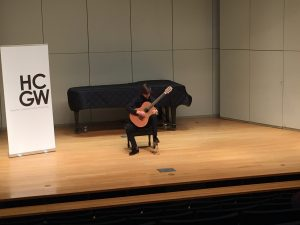 Houston Classical Guitar Workshop Performance
